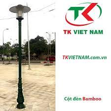 Cot den san vuon Bamboo giá rẻ, chất lượng