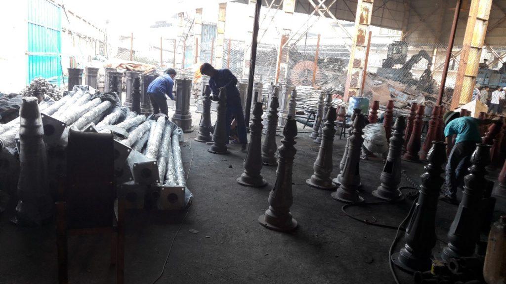 Công ty sản xuất cột đèn sân vườn TK Lighting