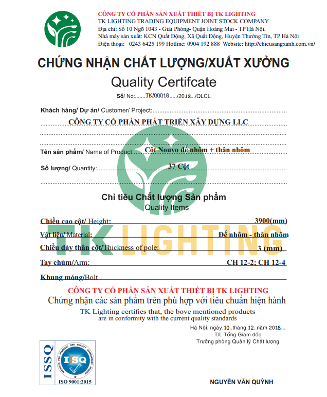 chung chi chat luong